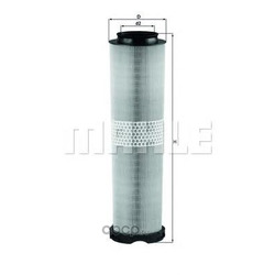 Воздушный фильтр (Mahle/Knecht) LX8166
