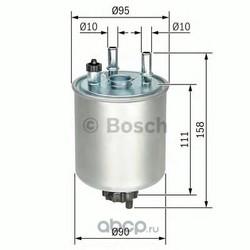 Топливный фильтр (Bosch) F026402082