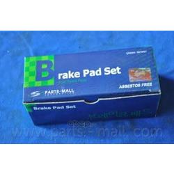 Комплект тормозных колодок (Parts-Mall) PKA035