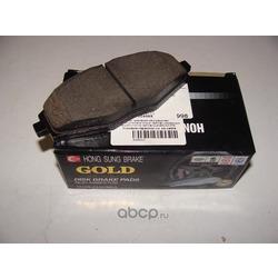 Колодки тормозные дисковые передние к-т (HSB) HP2021