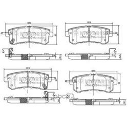 Комплект тормозных колодок (Nipparts) N3611058