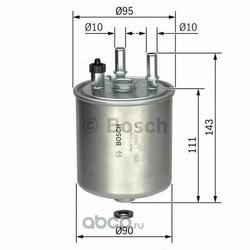 Топливный фильтр (Bosch) F026402081