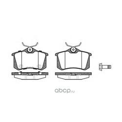 Комплект тормозных колодок, дисковый тормоз (Remsa) 026374