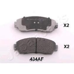 Комплект тормозных колодок (Japanparts) PA434AF