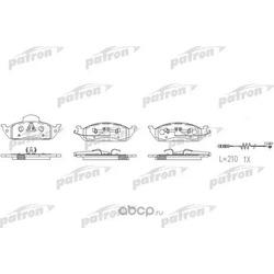 Колодки тормозные дисковые передн MERCEDES-BENZ: M-CLASS 98-05 (PATRON) PBP1400