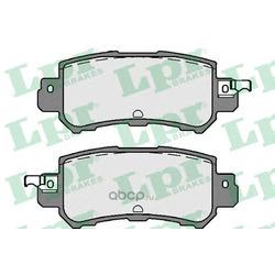 Комплект тормозных колодок (Lpr) 05P1756