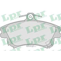 Колодки тормозные, комплект, передние (Lpr) 05P711