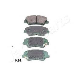 Комплект тормозных колодок, дисковый тормоз (Japanparts) PAK24AF