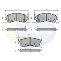 Комплект тормозных колодок, дисковый тормоз (Comline) CBP3941