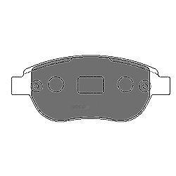 Комплект тормозных колодок, дисковый тормоз (Mapco) 6548