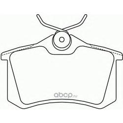 Колодки тормозные дисковые TEXTAR (Textar) 2355401