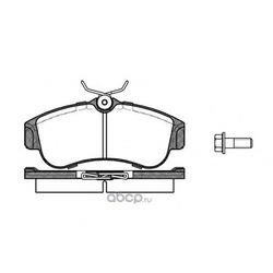 Комплект тормозных колодок, дисковый тормоз (Remsa) 032000