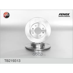 Диск тормозной (FENOX) TB219313