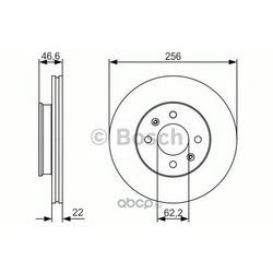 Диск тормозной (Bosch) 0986479R77