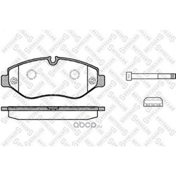 Комплект тормозных колодок (Stellox) 1256000SX