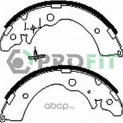 Комплект тормозных колодок (PROFIT) 50010318