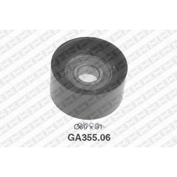 Паразитный / ведущий ролик, поликлиновой ремень (NTN-SNR) GA35506