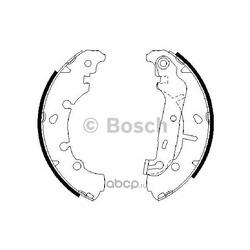 BOSCH Колодки тормозные барабанные, к-т (Bosch) 0986487599