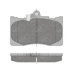 Комплект тормозных колодок, дисковый тормоз (SCT) SP475