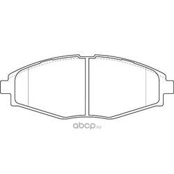 Комплект тормозных колодок, дисковый тормоз (WAGNER) WBP23241A
