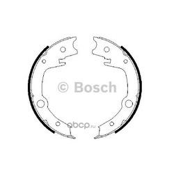 КОЛОДКИ БАРАБАННЫЕ (Bosch) 0986487679