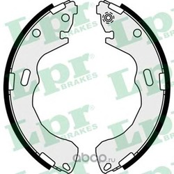 Комплект тормозных колодок (Lpr) 08030