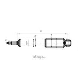 Амортизатор (SCT) Z1706