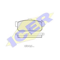 Комплект тормозных колодок, дисковый тормоз (Icer) 140876