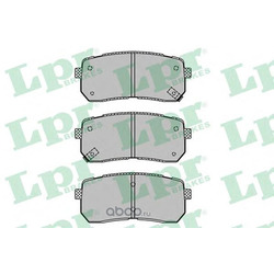 Комплект тормозных колодок, дисковый тормоз (Lpr) 05P1450