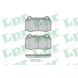 Комплект тормозных колодок, дисковый тормоз (Lpr) 05P1358
