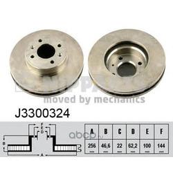 Тормозной диск (Nipparts) J3300324