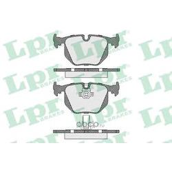 Комплект тормозных колодок, дисковый тормоз (Lpr) 05P1231