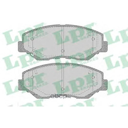 Колодки тормозные, комплект, передние (Lpr) 05P1364