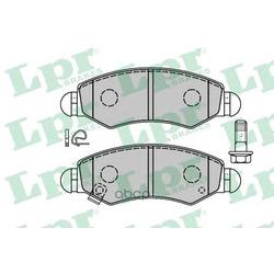 Комплект тормозных колодок, дисковый тормоз (Lpr) 05P1280