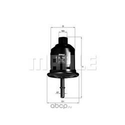 Топливный фильтр (Mahle/Knecht) KL749