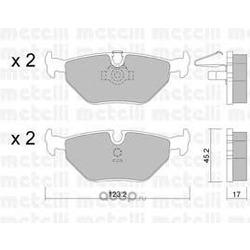 Комплект тормозных колодок, дисковый тормоз (Metelli) 2202100