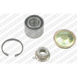 Подшипник ступицы колеса, комплект (NTN-SNR) R15563