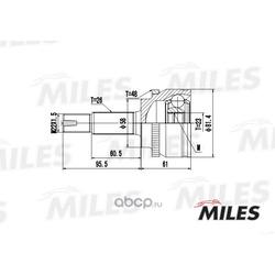 ШРУС TOYOTA (Miles) GA20474