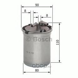 Топливный фильтр (Bosch) 0450906500