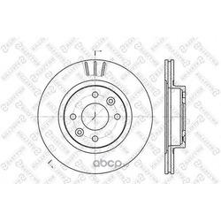Тормозной диск (Stellox) 60203922VSX