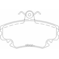 Колодки тормозные дисковые TEXTAR (Textar) 2146304