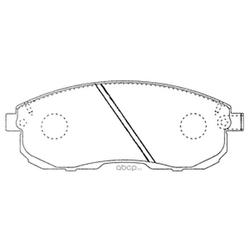 Колодки тормозные дисковые (FIT) FP0430