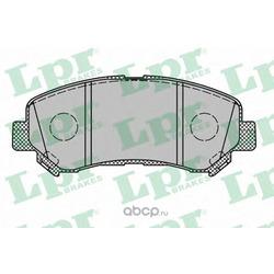 Комплект тормозных колодок, дисковый тормоз (Lpr) 05P1314
