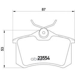 Комплект тормозных колодок, дисковый тормоз (Mintex) MDB1377