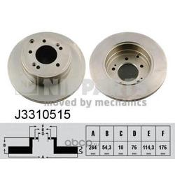 Тормозной диск (Nipparts) J3310515