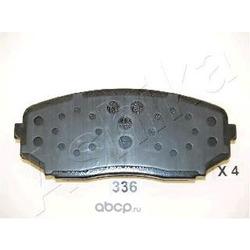 Комплект тормозных колодок, дисковый тормоз (Ashika) 5003336