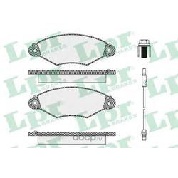 Комплект тормозных колодок, дисковый тормоз (Lpr) 05P1106