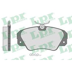 Комплект тормозных колодок, дисковый тормоз (Lpr) 05P449