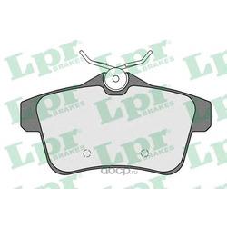 Комплект тормозных колодок, дисковый тормоз (Lpr) 05P1567