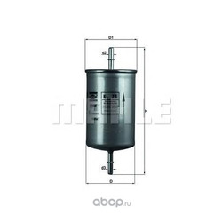 Топливный фильтр (Mahle/Knecht) KL71